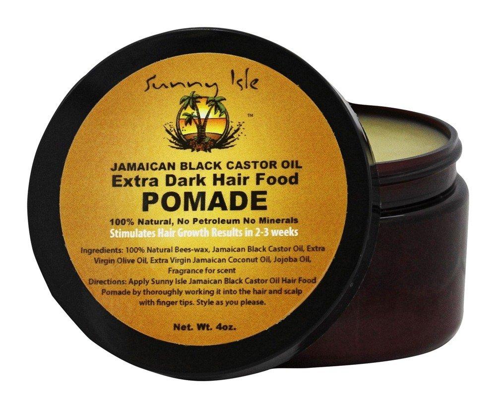 Sunny Isle Extra Dark Jamaican Black Castor Oil Hair Food Pomade 4oz
