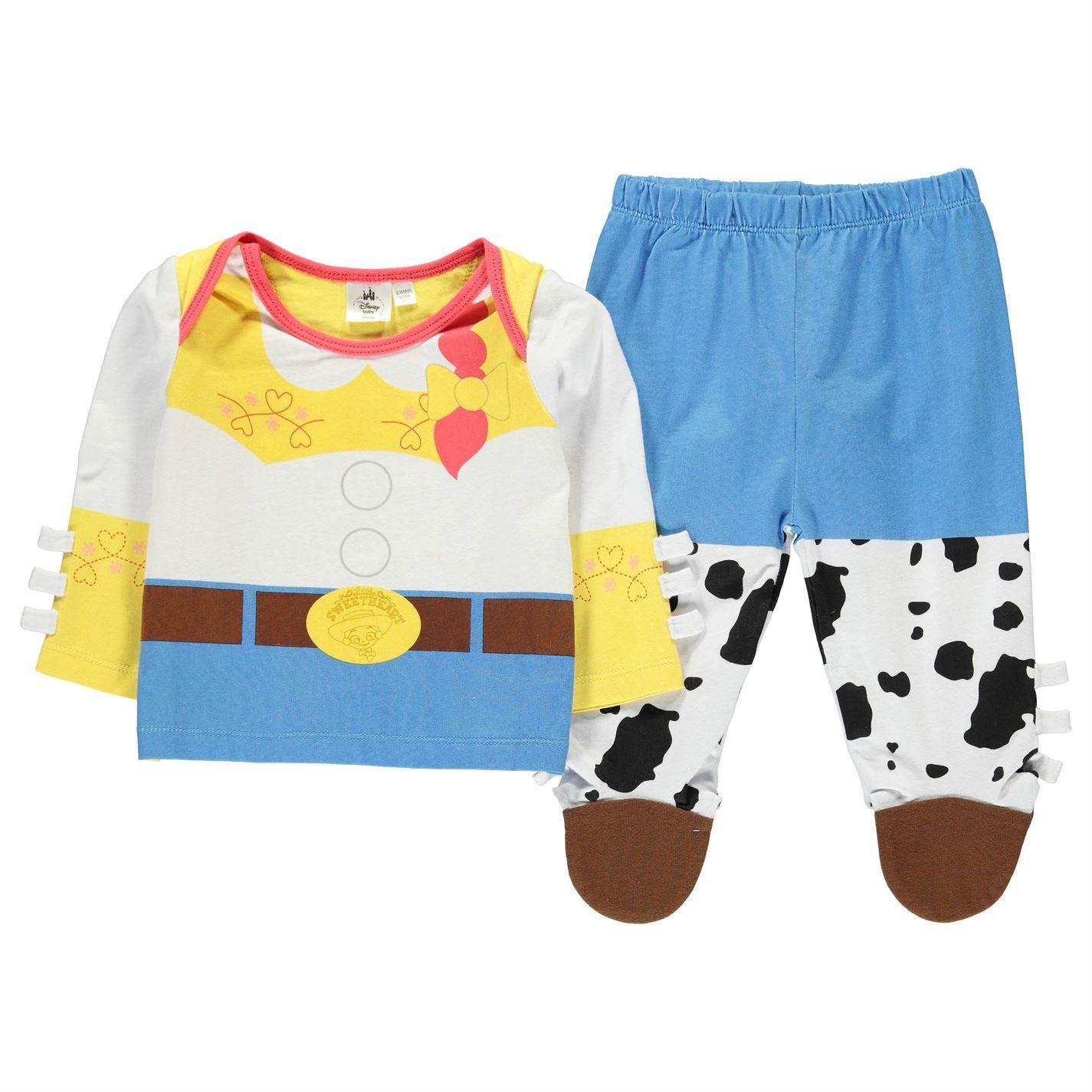 Disney Toy Story Jessie 2 Piece Pyjama Set Infant Baby Blue/WHT Pajama Sleepwear