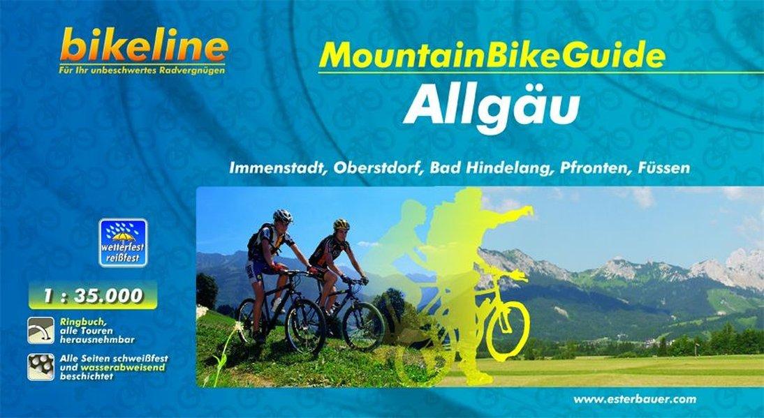 Bikeline MountainbikeGuide Allgäu  Immenstadt Oberstdorf Bad Hindelang Pfronten Füssen 750 Km 1 35.000 750 Km Wetterfest Reißfest GPS Tracks Download