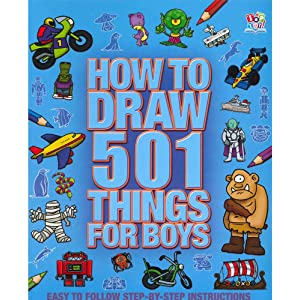 Utterly awesome 501 things to draw (paperback): target.