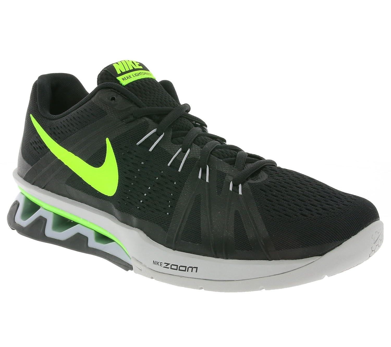 Nike Herren Reax Lightspeed Turnschuhe, Schwarz, 41 EU  45 EU|Black (Black (Schwarz / Elektro-gr眉n-grau Wolf))