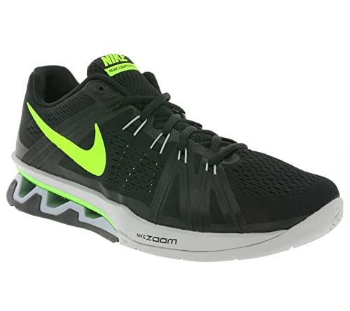online store 8fa6b 42353 Nike Reax Lightspeed, Scarpe da Ginnastica Uomo, Nero Negro (Black/Electric  Green