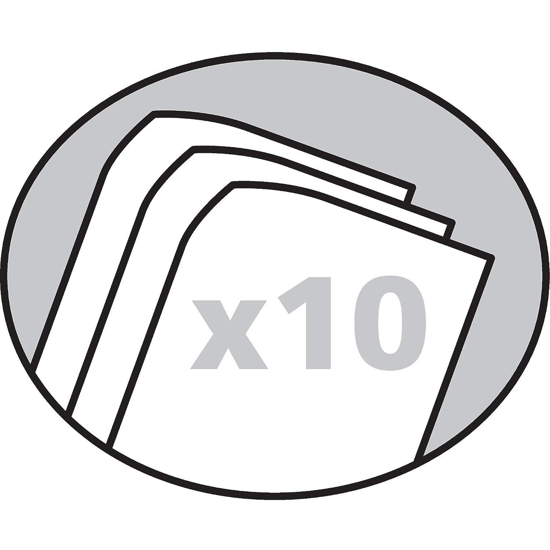 Cartelline in cartoncino Falken in fibre riciclate 1 St/ück farbrein Nero