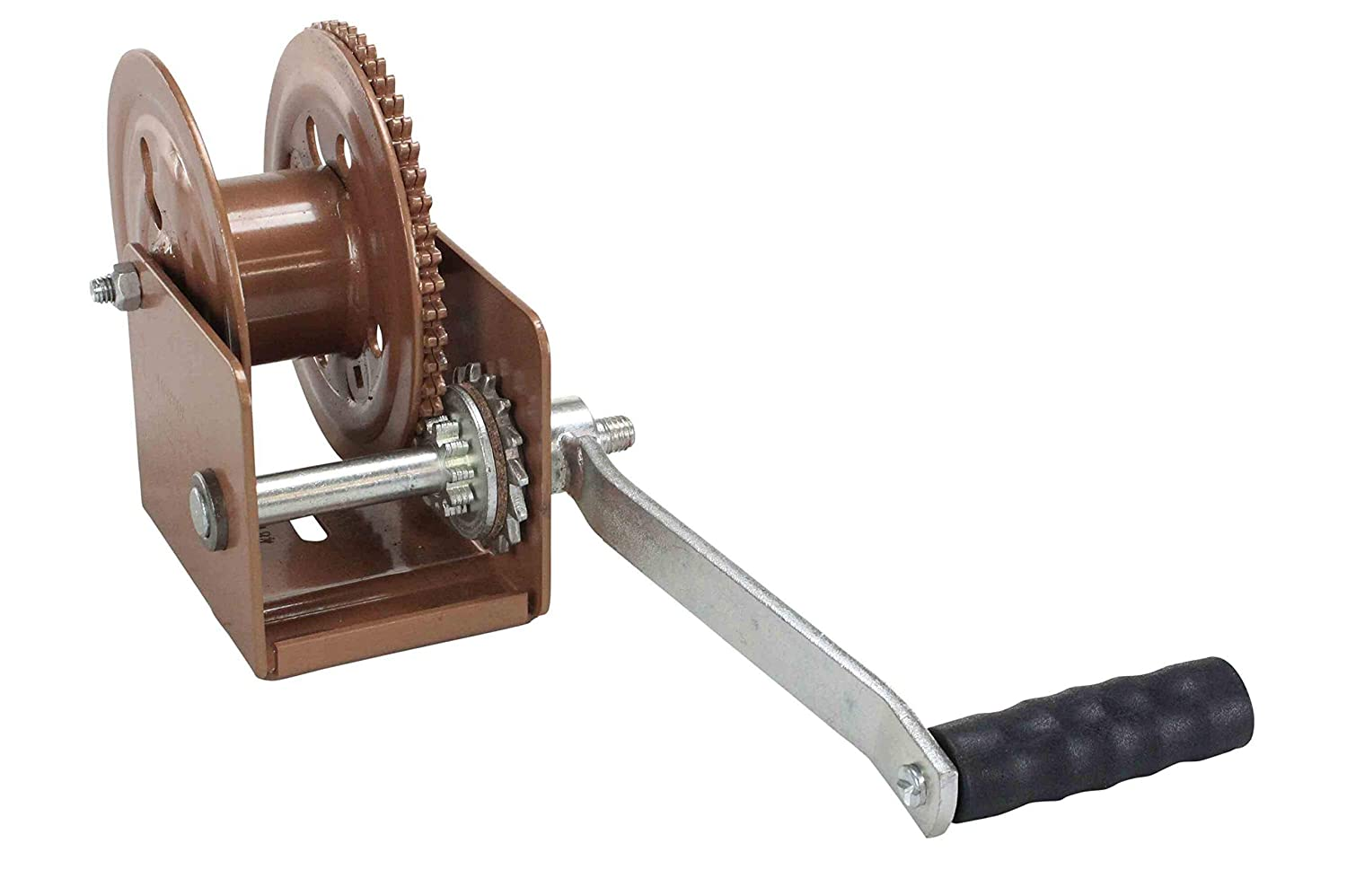 Manual Hand Crank Winch - 1 250 Lbs Lifting Force