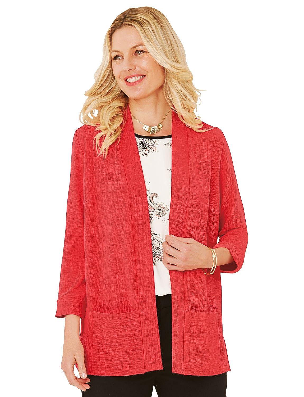 Damen Bernstein 3/4Sleeve Jersey Jacke