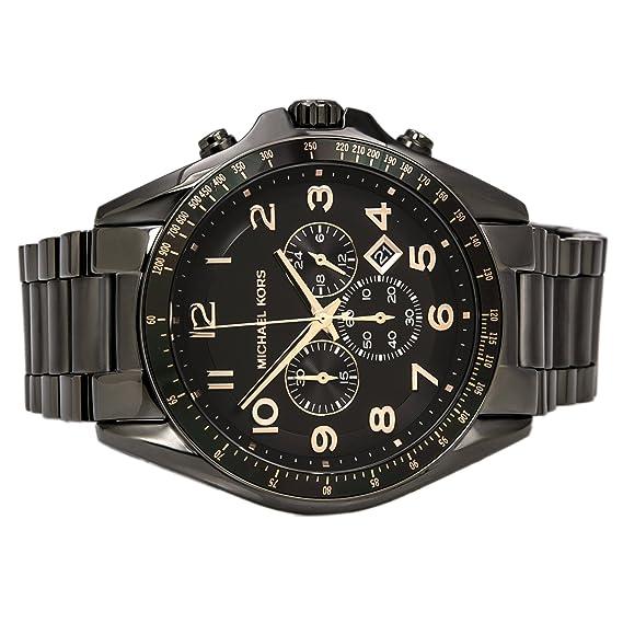 6de85a810a32 Michael Kors Men s MK8255 Bradshaw Gunmetal Watch  Michael Kors  Amazon.ca   Watches