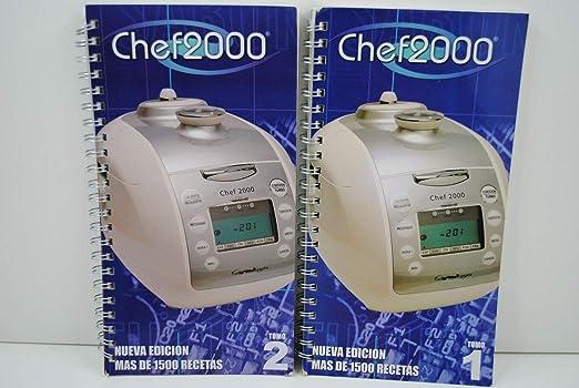 Dos RECETARIOS Robot para Robot DE Cocina Chef 2000 Turbo ...