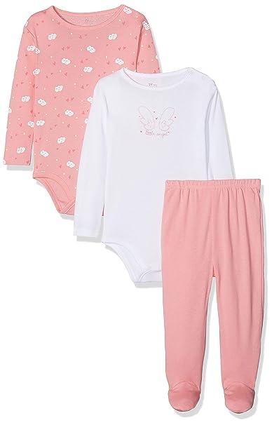 Zippy Dormir, Conjuntos de Pijama para Bebés, Rosa (Quartz Pink 14-1714TC