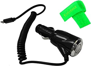 2 AMP Car Charger Adaptor Micro USB for Alcatel Jitterbug Smart A622GL (2 Amp Car Charger)