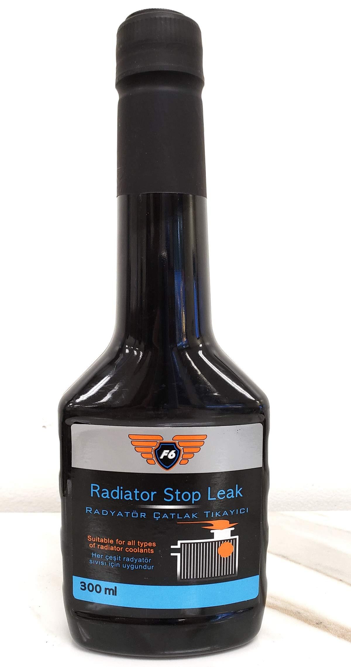 Speedol F6 Radiator Stop Leak Cooling System Sealer, 10.14 Oz (300 Ml) Bottle   Fixes Minor Leaks and Seepages in The Radiator by Speedol