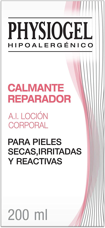 Physiogel A.I. Loción Corporal - Calmante Reparadora para piel seca, irritada o reactiva - 200 ml