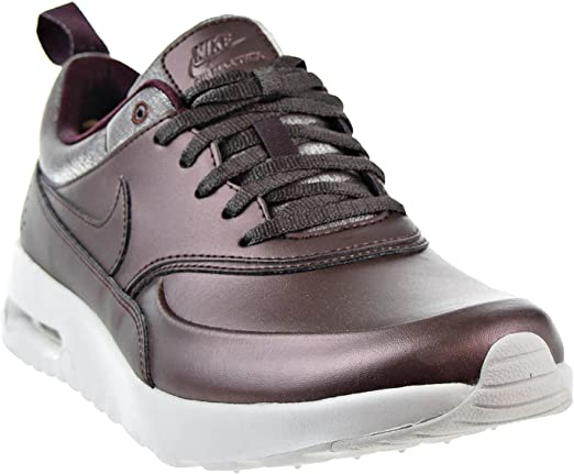 Nike Damen Air Max Thea Premium Braun TextilLederSynthetik Sneaker