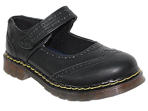 Foster Footwear Botas Estilo Motero de Material Sintético Mujer, Color Negro, Talla 35.5: Amazon.es: Zapatos y complementos