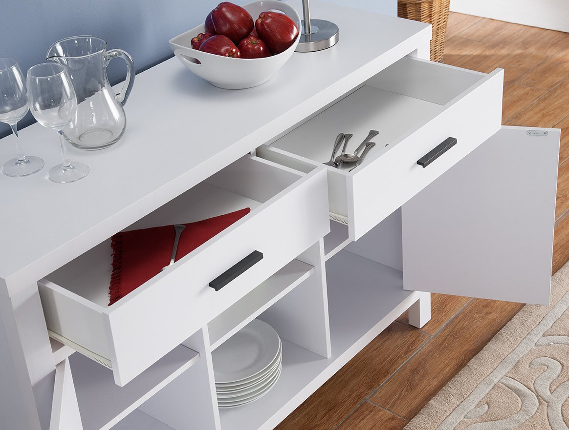 Smart Home 151199 Pearl Modern Buffet Serving Table by Smart home (Image #2)