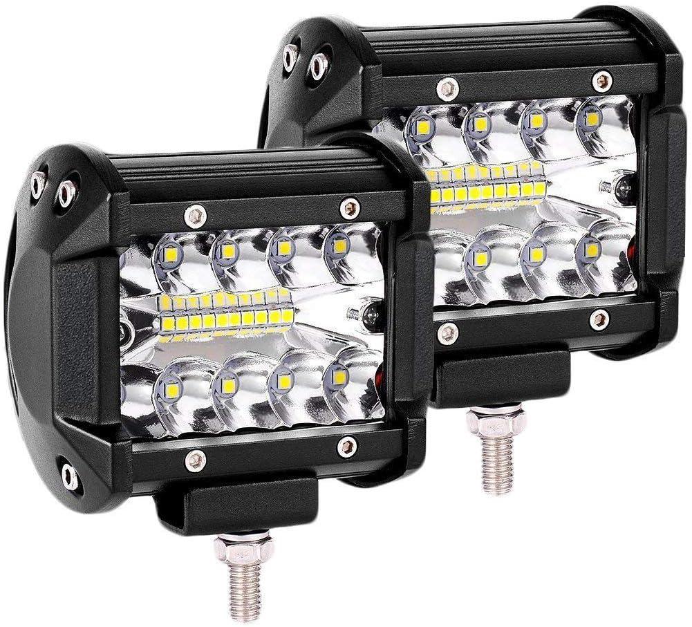 LTPAG 2pcs Focos LED Tractor, 4