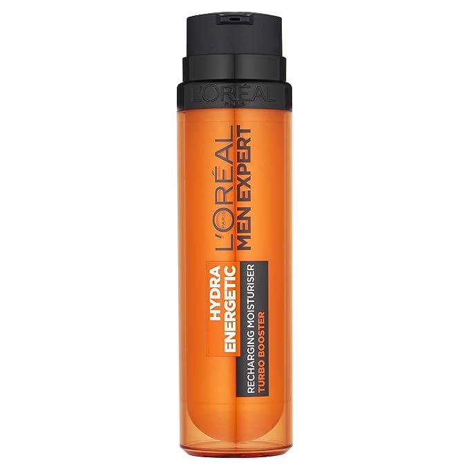 LOreal Men Expert Hydra Energetic Hidratante Fluid relojes de alarma anti-Parés 50ml Difécil: Amazon.es: Belleza