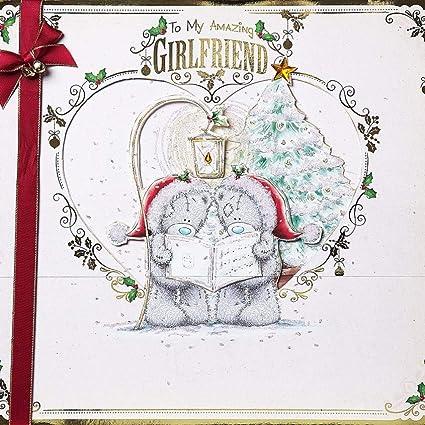 Me To You Bear Tarjeta de Navidad Gigante en Caja Novia ...