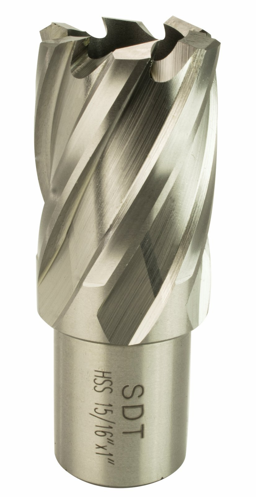 Steel Dragon Tools 15/16'' x 1'' High Speed Steel Annular Cutter with 3/4'' Weldon Shank