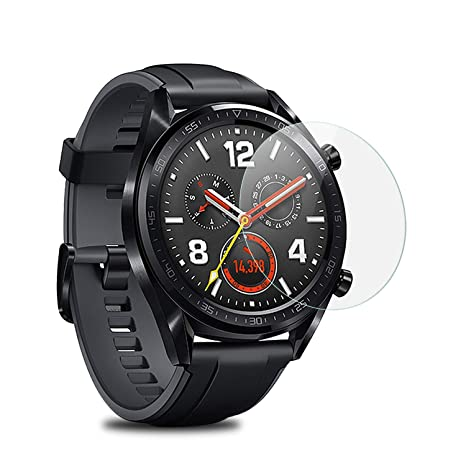 Mwoot Lot de 4 Vitre de Protection Trempé pour Huawei Watch GT, Anti Rayures Protecteur en Verre: Amazon.fr: High-tech