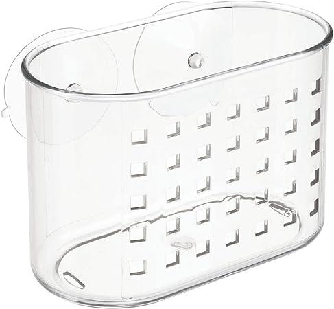iDesign Container pequeño con Ventosa ID, Medio: Amazon.es: Hogar
