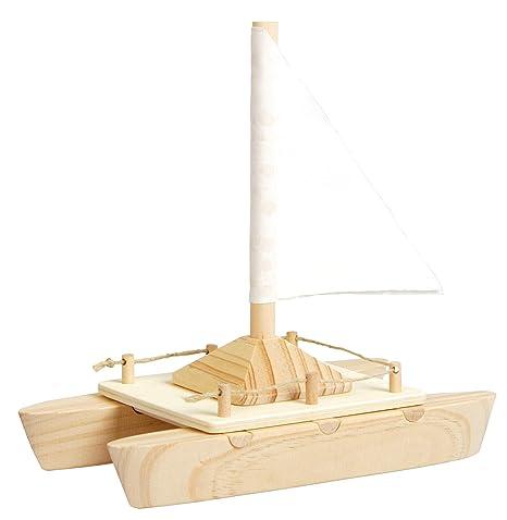 EDUPLAY 210218 17,5 x 17 x 9 cm Katamaran Boot Spielzeug: Amazon.de ...