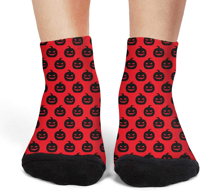 Halloween pumpkin pattern Womens socks thermal socks