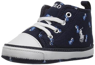 a83ae2bf3 Polo Ralph Lauren Kids baby-boys Hamptyn Hi Crib Shoe