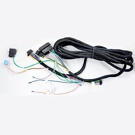 Autosion - Reproductor de DVD y GPS para Benz (Cable Largo, Amplificador de Fibra