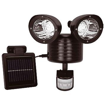 22 funciona con energía Solar Led recargable luz de seguridad Sensor de movimiento Sensor de movimiento