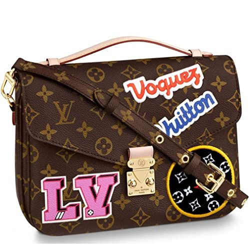 887217b42b1d Image Unavailable. Image not available for. Color  Louis Vuitton Monogram  Canvas Pochette Metis Cross Body Handbag ...