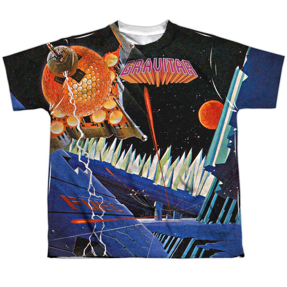 Trevco Atari 2600 gravitar diseño de cartucho de caza mayor frontal jóvenes camiseta de la impresión para niños: Amazon.es: Ropa y accesorios