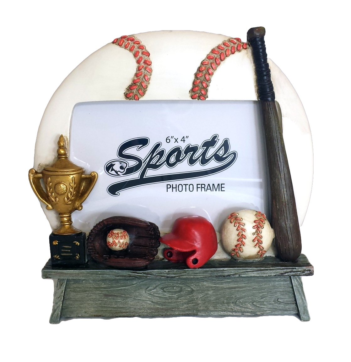 Amazon.de: Bilderrahmen-Baseball Team Trainer-Spieler, Geschenkidee