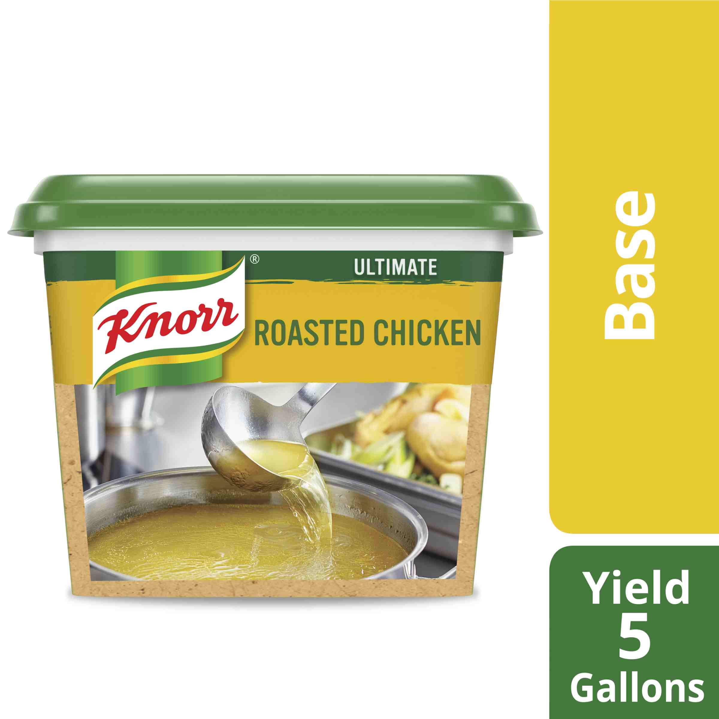 Knorr Professional Ultimate Chicken Stock Base Gluten Free, No Artificial Flavors or Preservatives, No added MSG, Colors from Natural Sources, 1 lb, Pack of 6 by Knorr