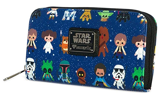 Image Unavailable. Image not available for. Color  Loungefly Star Wars Baby  All Over Print ... 5e220eb040d8e