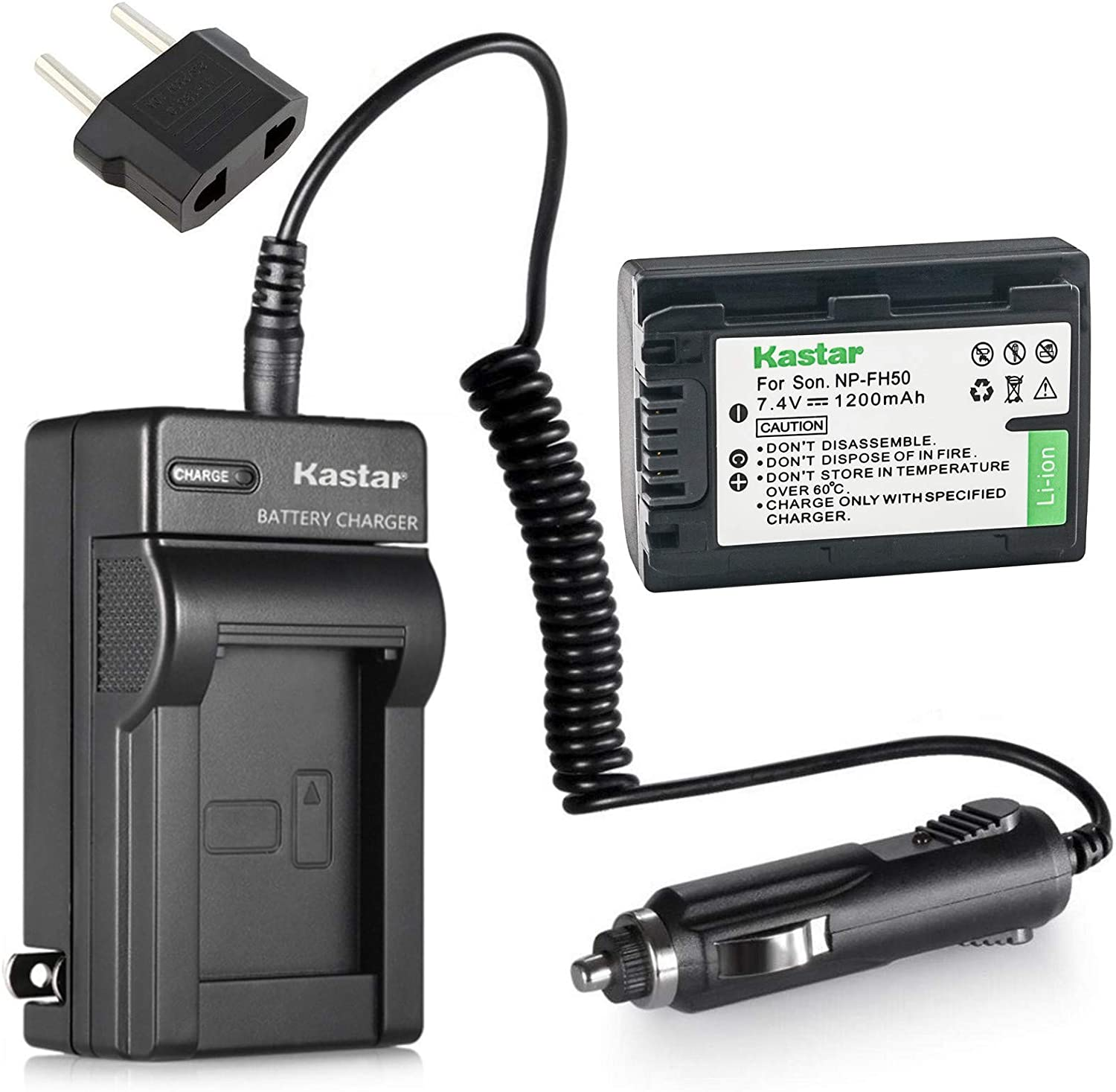 DCR-DVD308 LCD Displays Fast Battery Charger for Sony DCR-DVD304 DCR-DVD305 DCR-DVD310 Handycam Camcorder DCR-DVD306