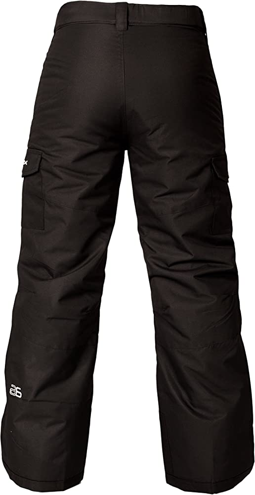Arctix Kids Snow Sports Cargo Snow Pants with Articulated Knees