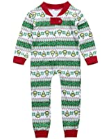 Mornbaby Family Matching Christmas Pajamas Set Kid Adult PJS Sleepwear Nightwear