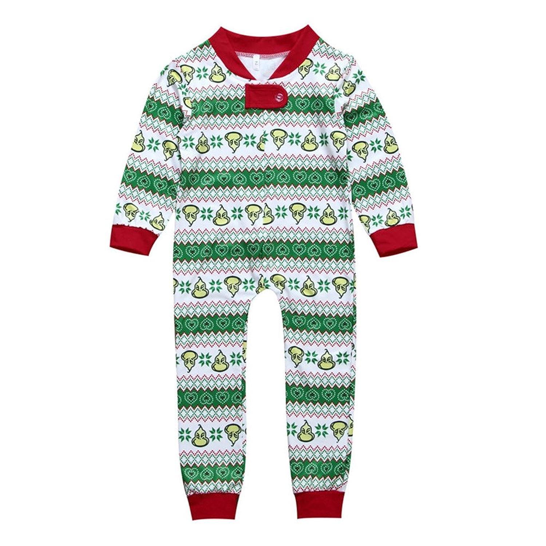 Amazon.com: Mornbaby Family Matching Christmas Pajamas Set Kid Adult ...