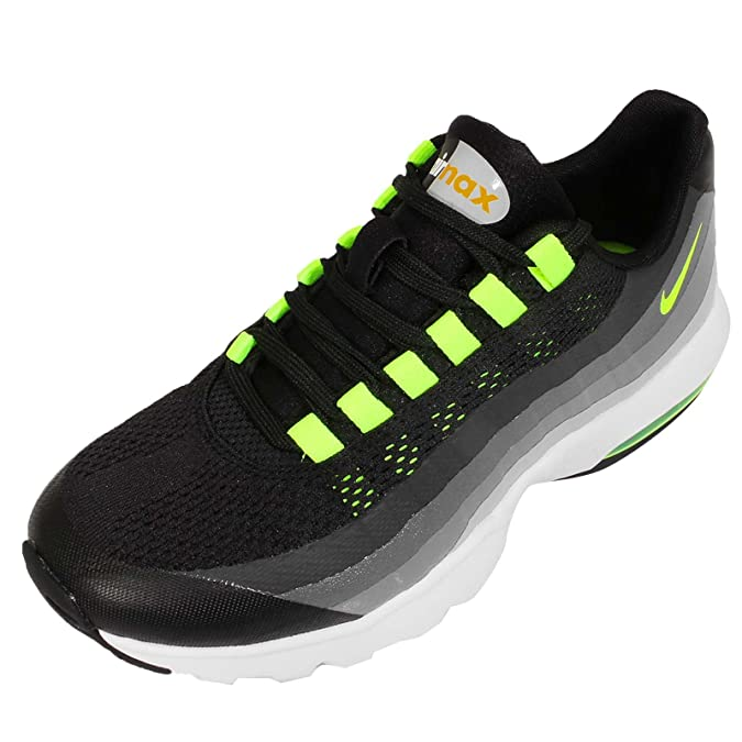 info for d03f7 5f297 Amazon.com | Nike Women's Wmns Air Max 95 Ultra, BLACK/VOLT-ANTHRACITE-DARK  GREY, 5.5 US | Shoes