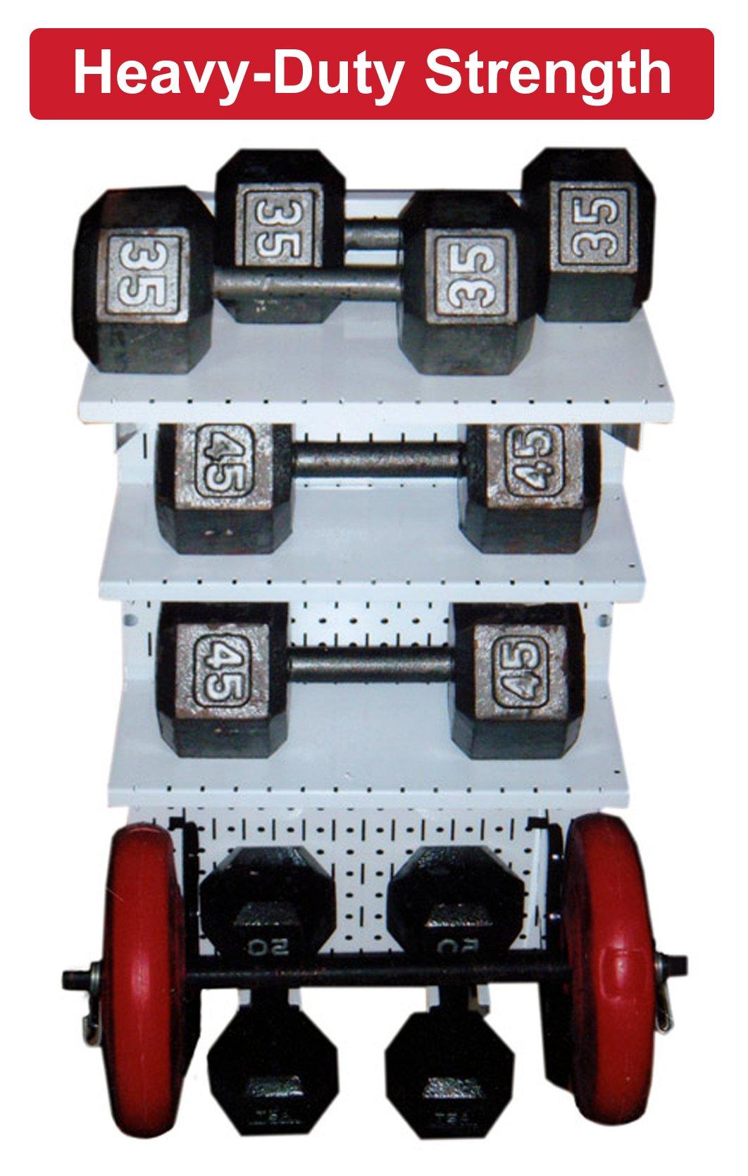 Wall Control 30-WRK-800WB Master Workbench Metal Pegboard Tool Organizer by Wall Control (Image #8)