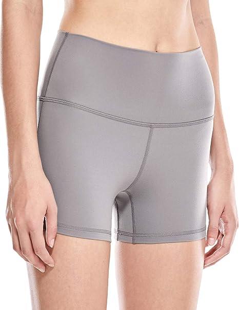 CRZ YOGA Pantalones Cortos Deportivos para Mujer,Running ...