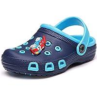 Zuecos Mulas para niños pequeños niñas Sandalias Zapatillas de Playa Zuecos de jardín Zapatos de Piscina Chanclas de…