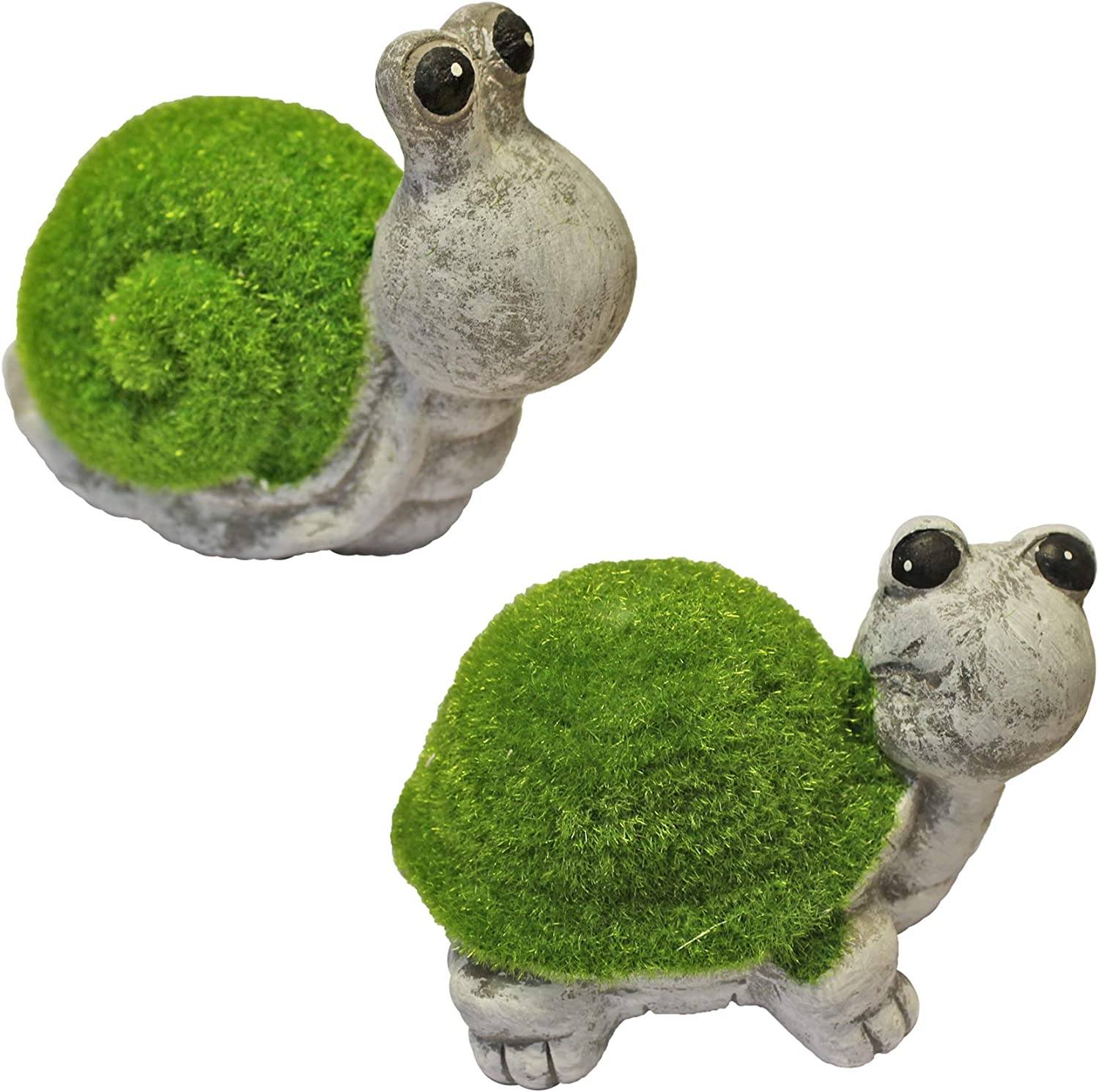 Roots /& Shoots Flock Grass /& Stone Effect Garden Ornament Hedgehog