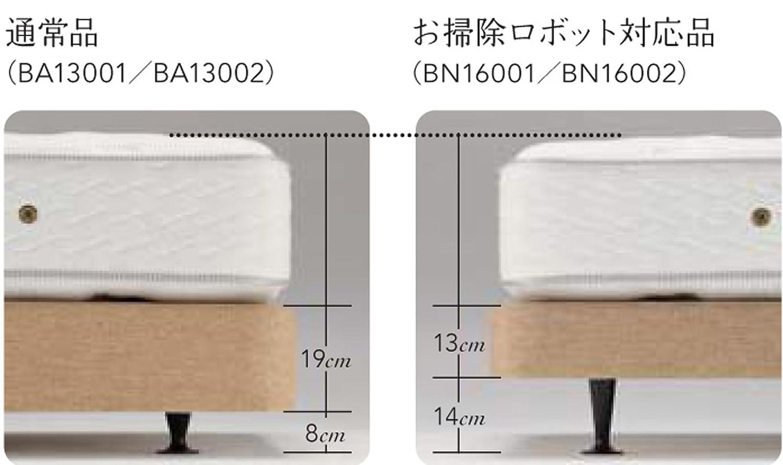【シモンズ】ゴールデンバリューAA16223 ダブルクッション BN16001ベージュ色ダブルサイズ2box お掃除ロボット対応 B06WP1XDR8 ダブルサイズ(W140cm)2Box|ボックススプリング ベージュ色 ボックススプリング ベージュ色 ダブルサイズ(W140cm)2Box