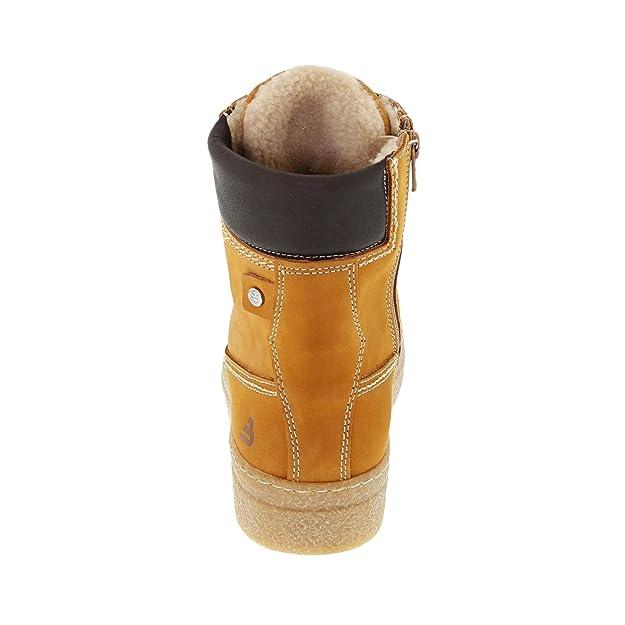BULLBOXER 492501E6L OCREXX Damen Boots Warmfutter aus Textil robuste Laufsohle
