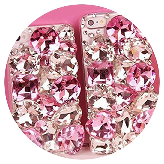 8e40f488f Image Unavailable. Image not available for. Color  Cute 3D Bling Crystal  Diamonds Rhinestone Hard Back Case Cover for iPhone ...