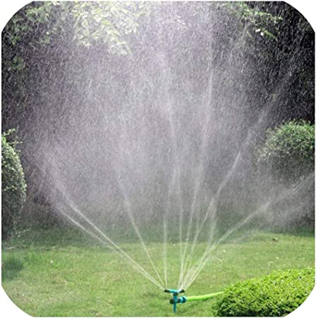 Lawn Sprinkler Automatic 360° Rotating Garden Water Sprinklers Lawn Irrigation