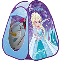 Smoby-75144 Tienda Pop up Tela Frozen 44.5 x 22.1 x 19.8 (75144