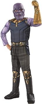 Avengers - Disfraz de Thanos Premium, Infinity Wars, infantil 3-4 ...