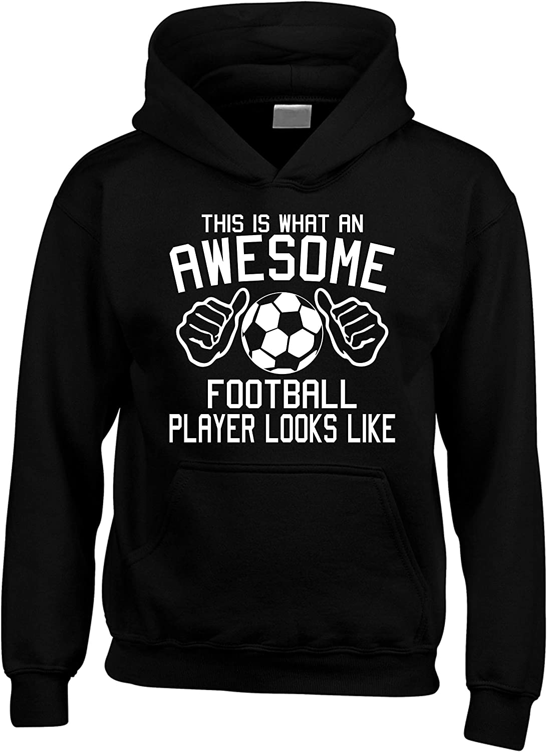Edward Sinclair 'This is What an Awesome Football Player Looks Like' Sudadera unisex con capucha